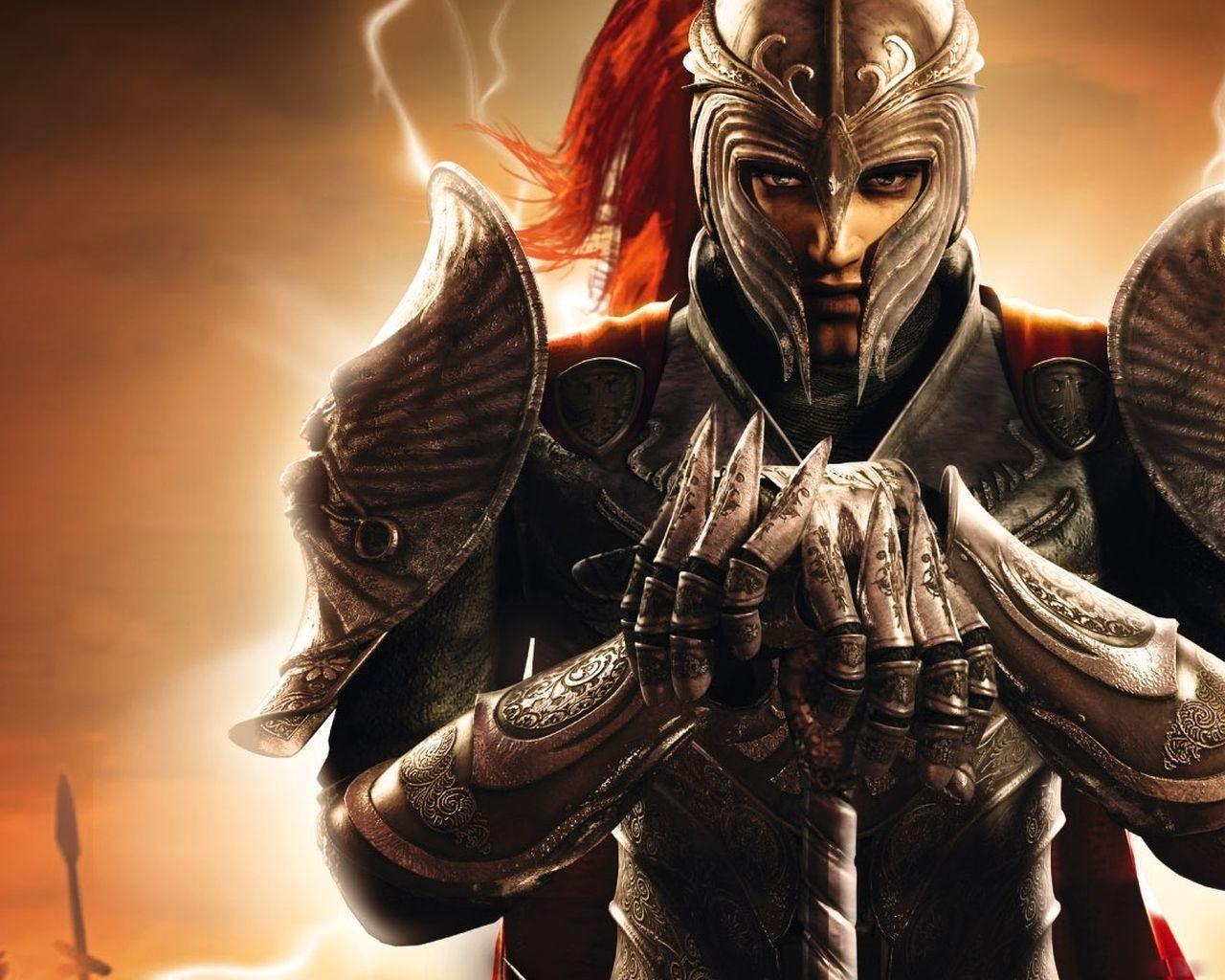 рыцарь в тяжелых доспехах, рисунок, обои для рабочего стола, скачать, knight