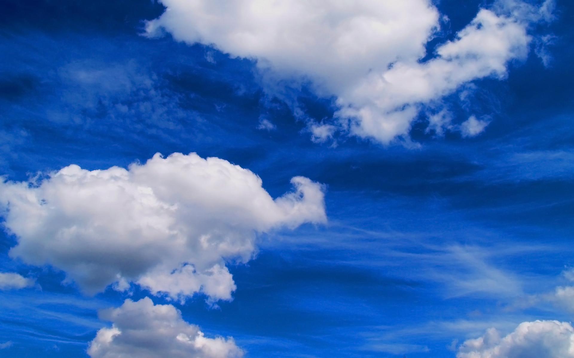 небо, облака, скачать фото, обои для рабочего стола