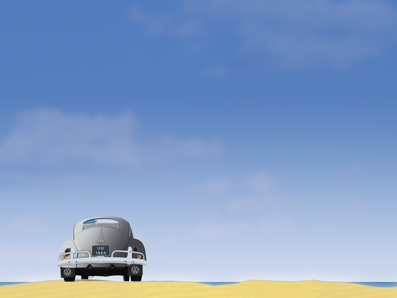 sky wallpaper, небо, машина, пляж, скачать фото, обои для рабочего стола