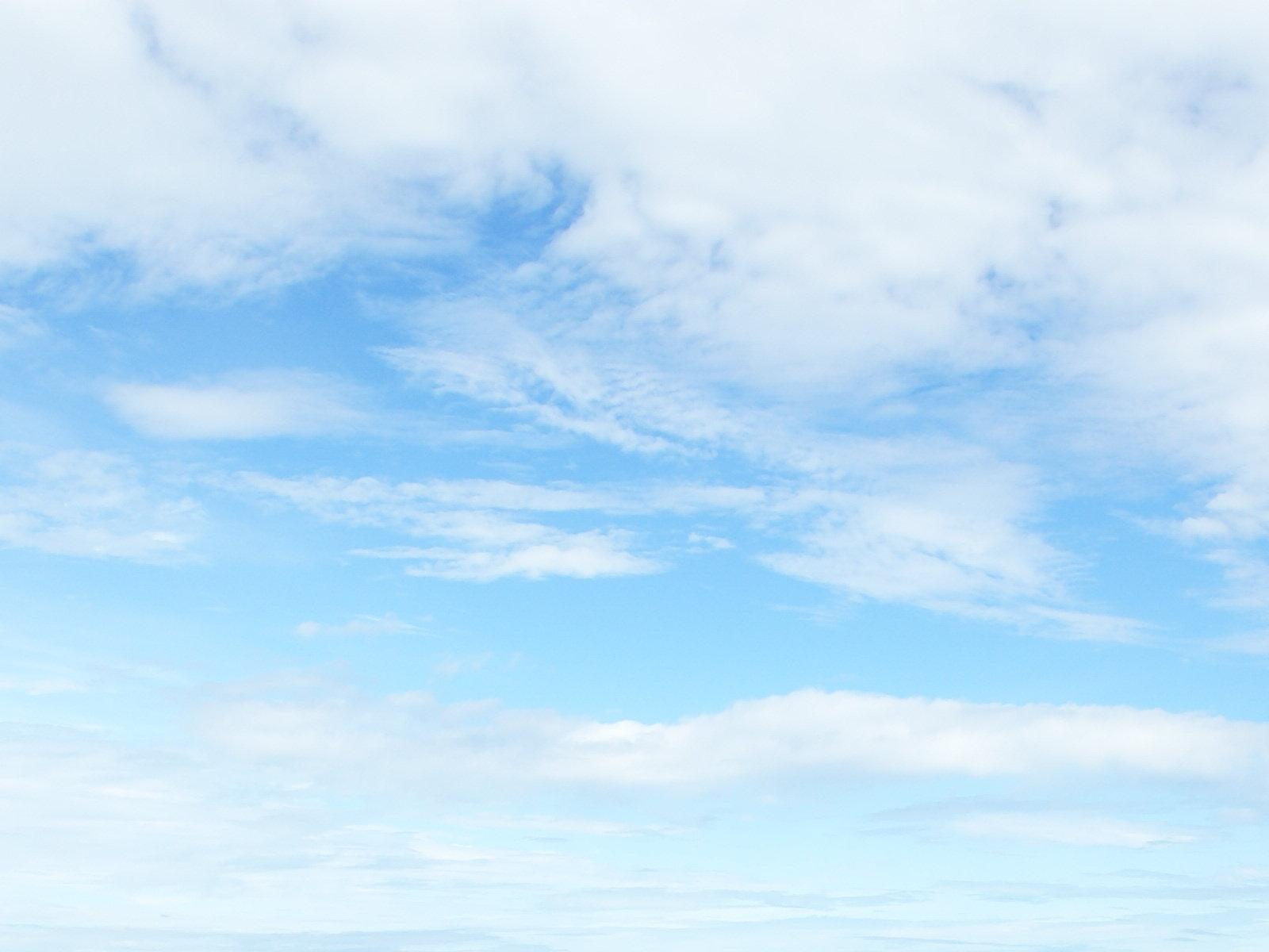 перистые облака, скачать фото, обои для рабочего стола, небо