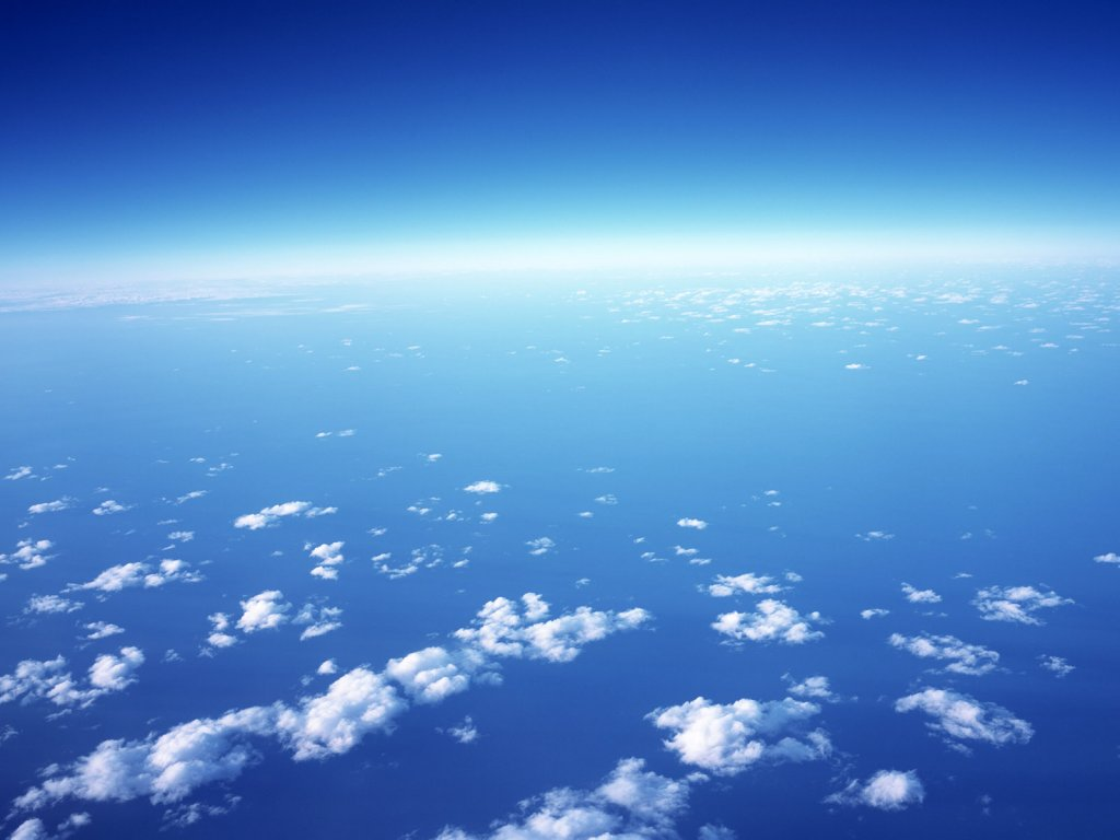 небо, перистые облака, скачать фото, обои для рабочего стола