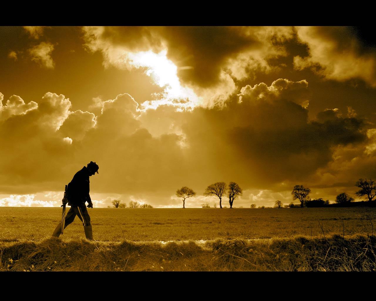 небо, закат, фото, обои для рабочего стола, скачать