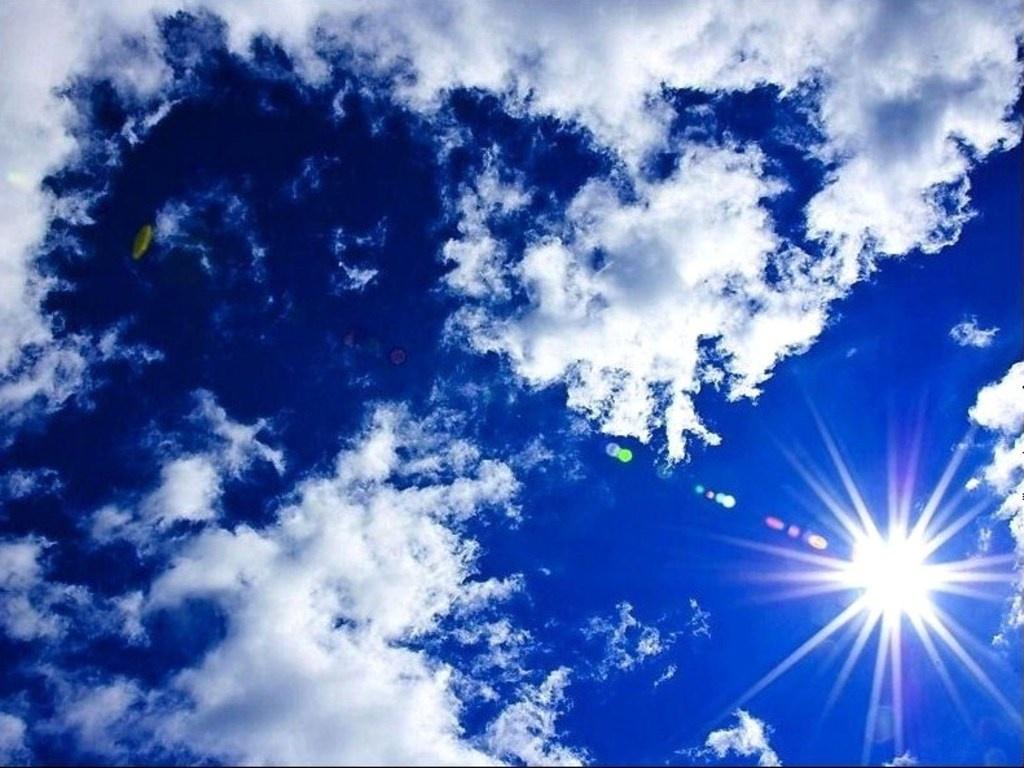 синее небо с облаками, скачать фото, обои для рабочего стола, бесплатно