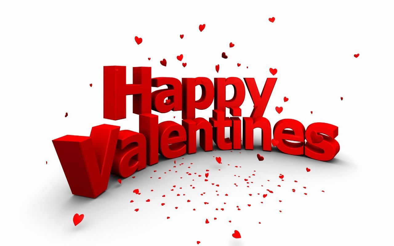 Happy Valentines wallpaper, скачать обои для рабочего стола, фото