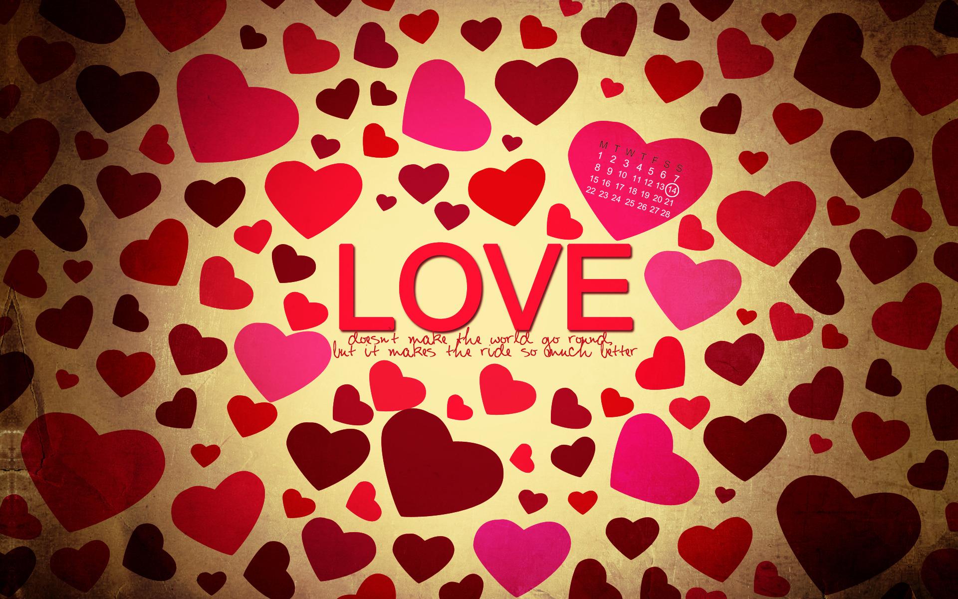 Любовь, LOVE wallpaper, скачать фото, обои на рабочий стол, сердечки