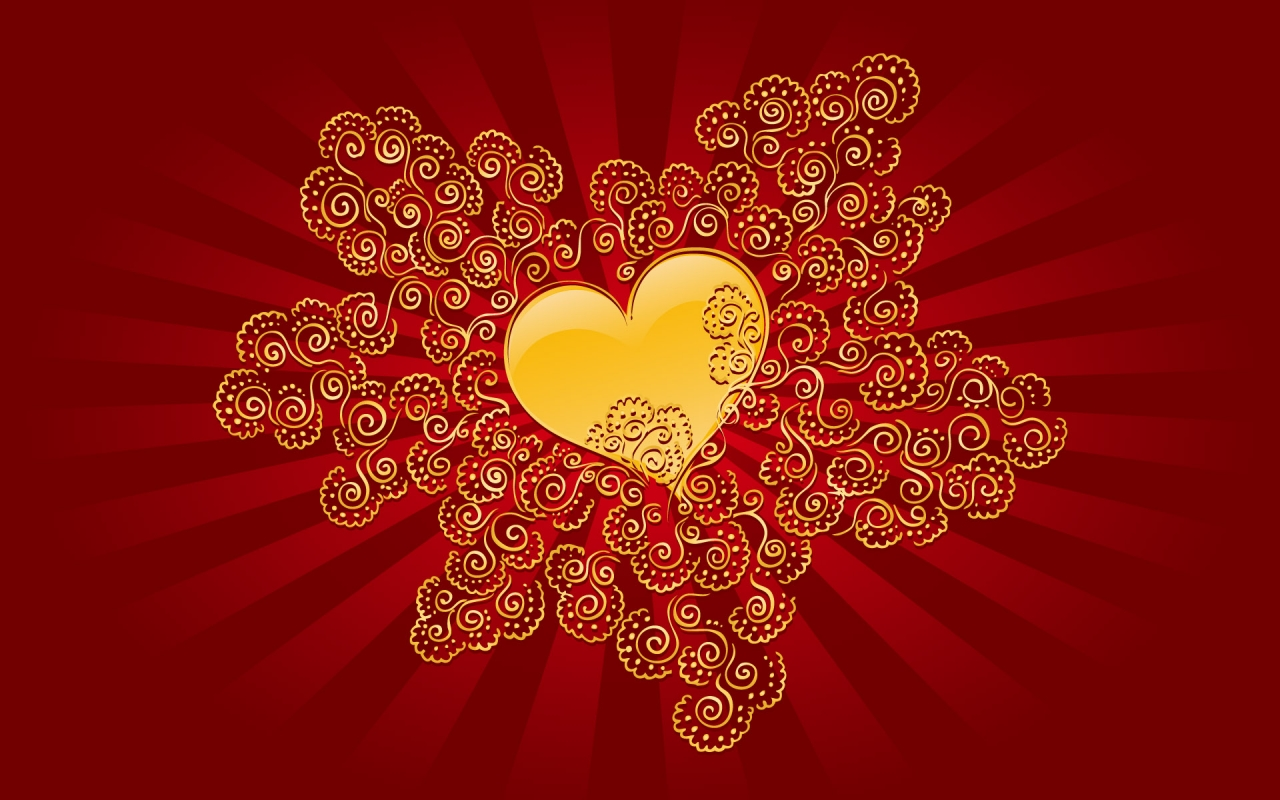 золотое сердце, фото, рисунок, скачать, gold heart