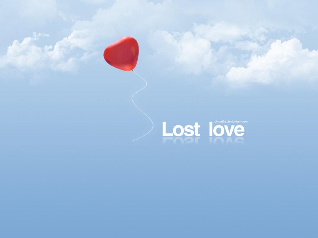 Lost Love, скачать фото, обои для рабочего  стола, сердце в небе