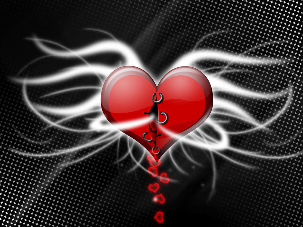 сердце ангела, скачать фото, обои для рабочего стола