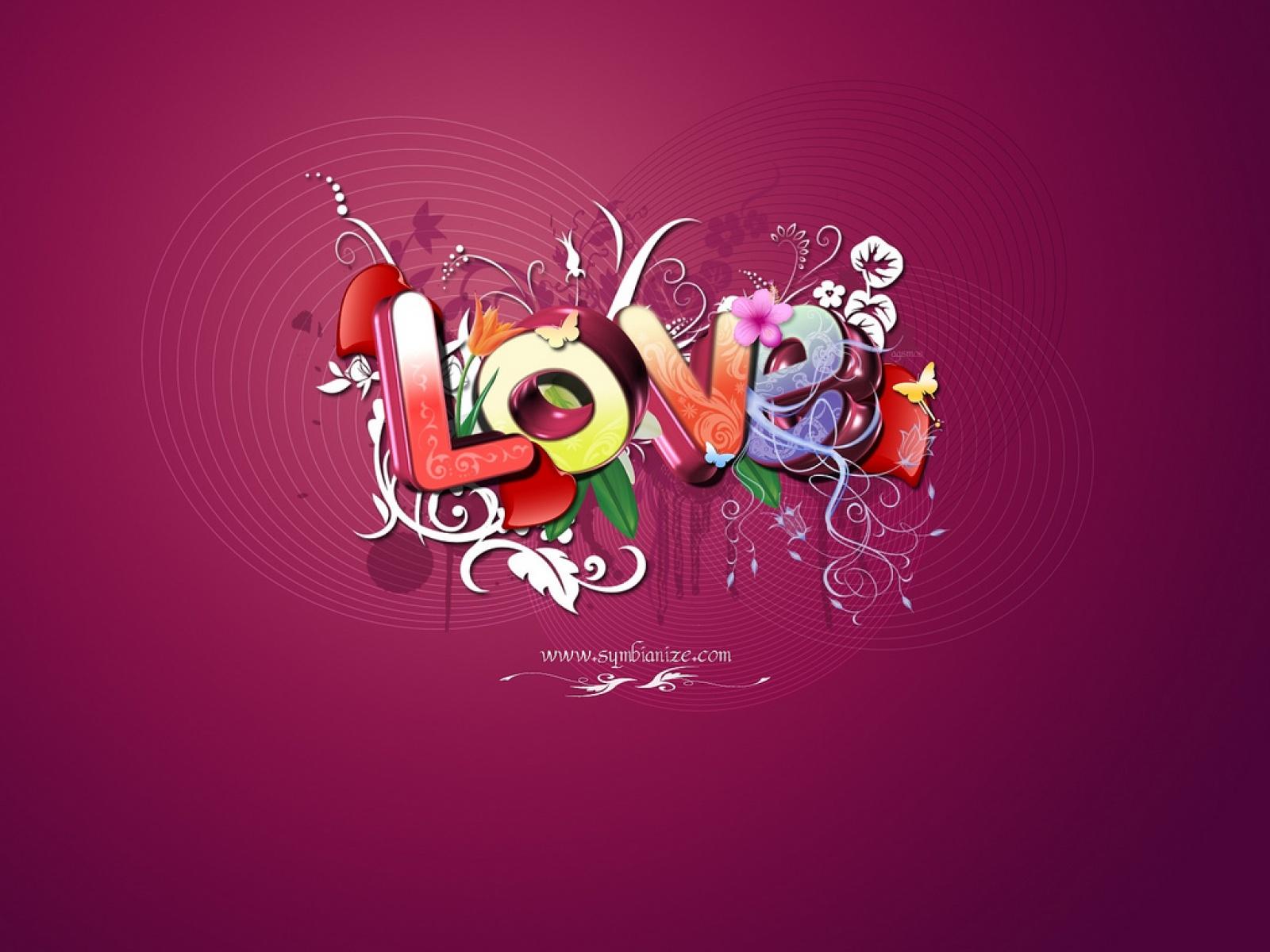 LOVE Wallpaper, скачать обои для рабочего стола, Любовь