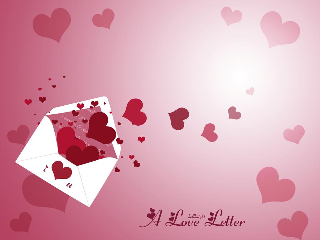конверт с сердцами, скачать фото, обои для рабочего стола, hearts envelope