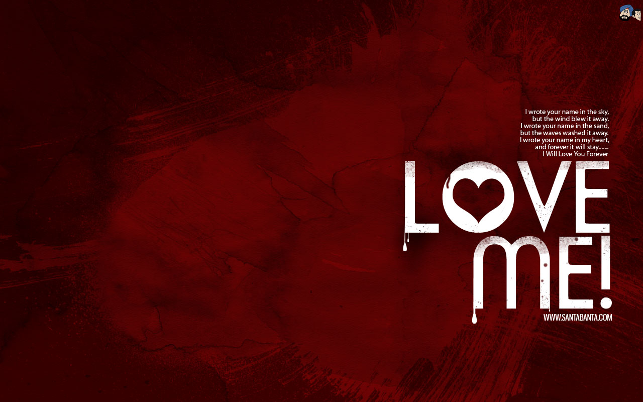 Обои, Love me, wallpaper, Любовь