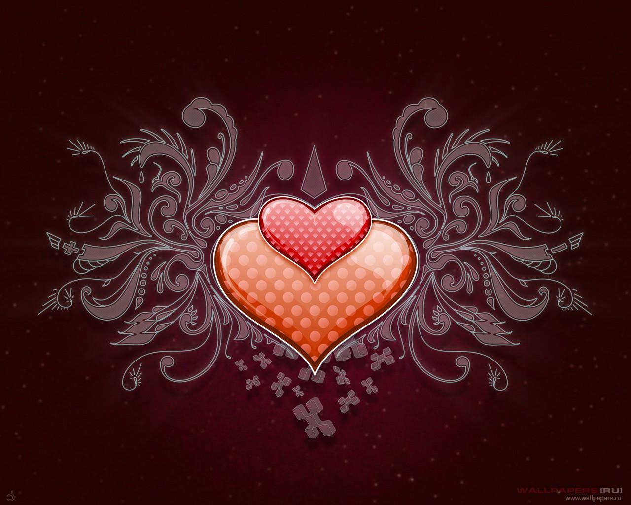 сердца, hearts wallpapers, скачать фото, обои для рабочего стола