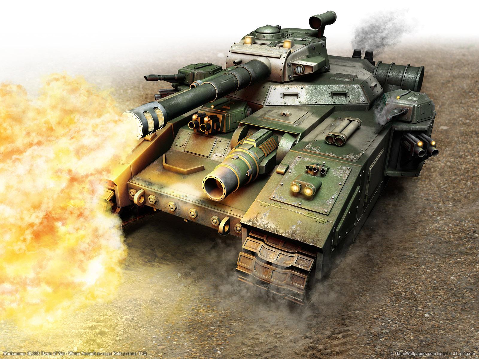 выстрел из танка, скачать обои для рабочего стола, танки