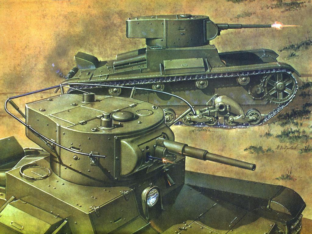 танки второй мировой войны, скачать фото, обои для рабочего стола, БТ