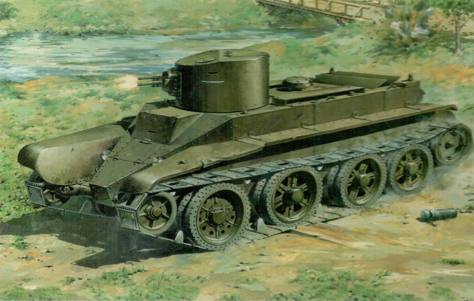 танк, БТ-7, скачать фото, бесплатно