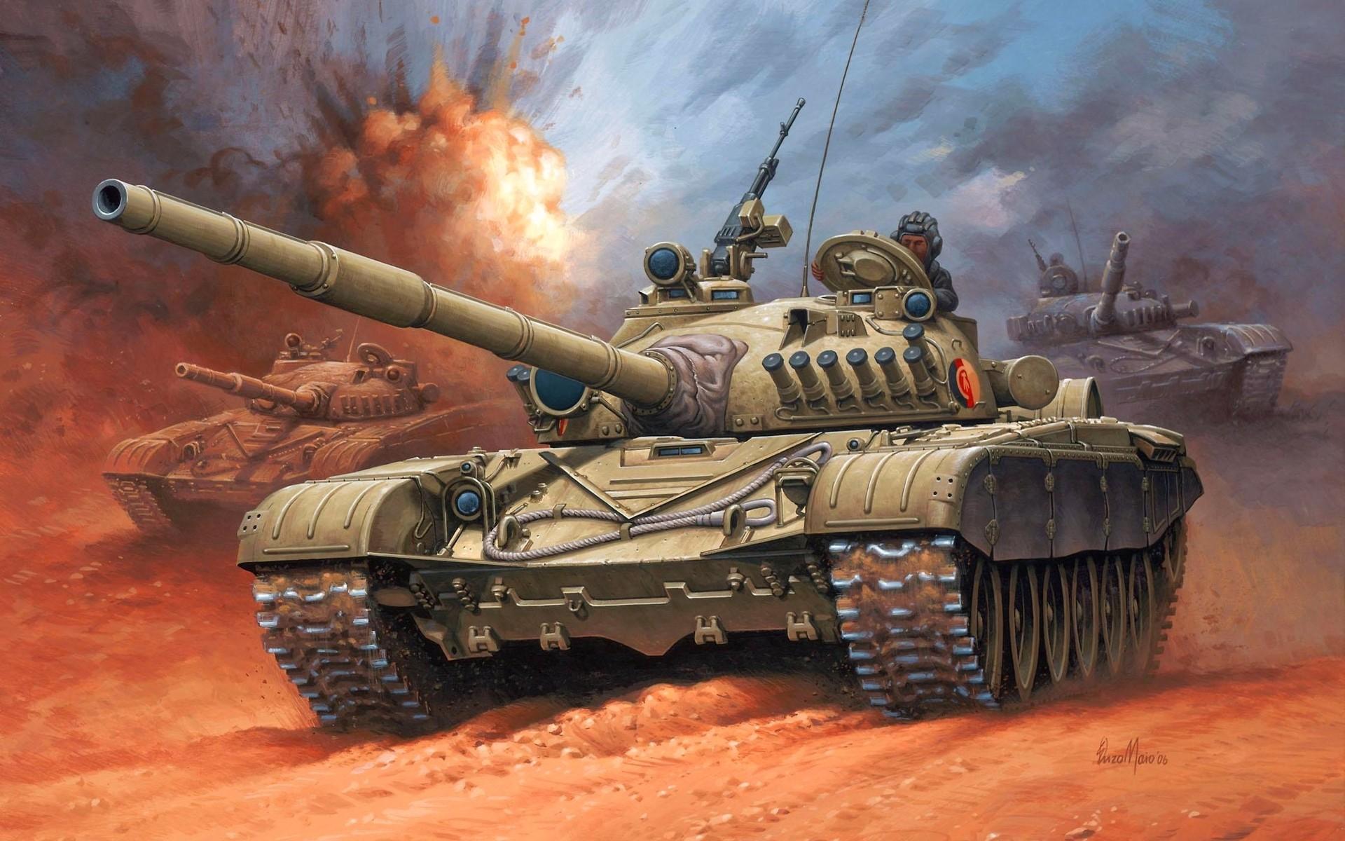советский танк, Т-72, скачать фото, обои для рабочего стола