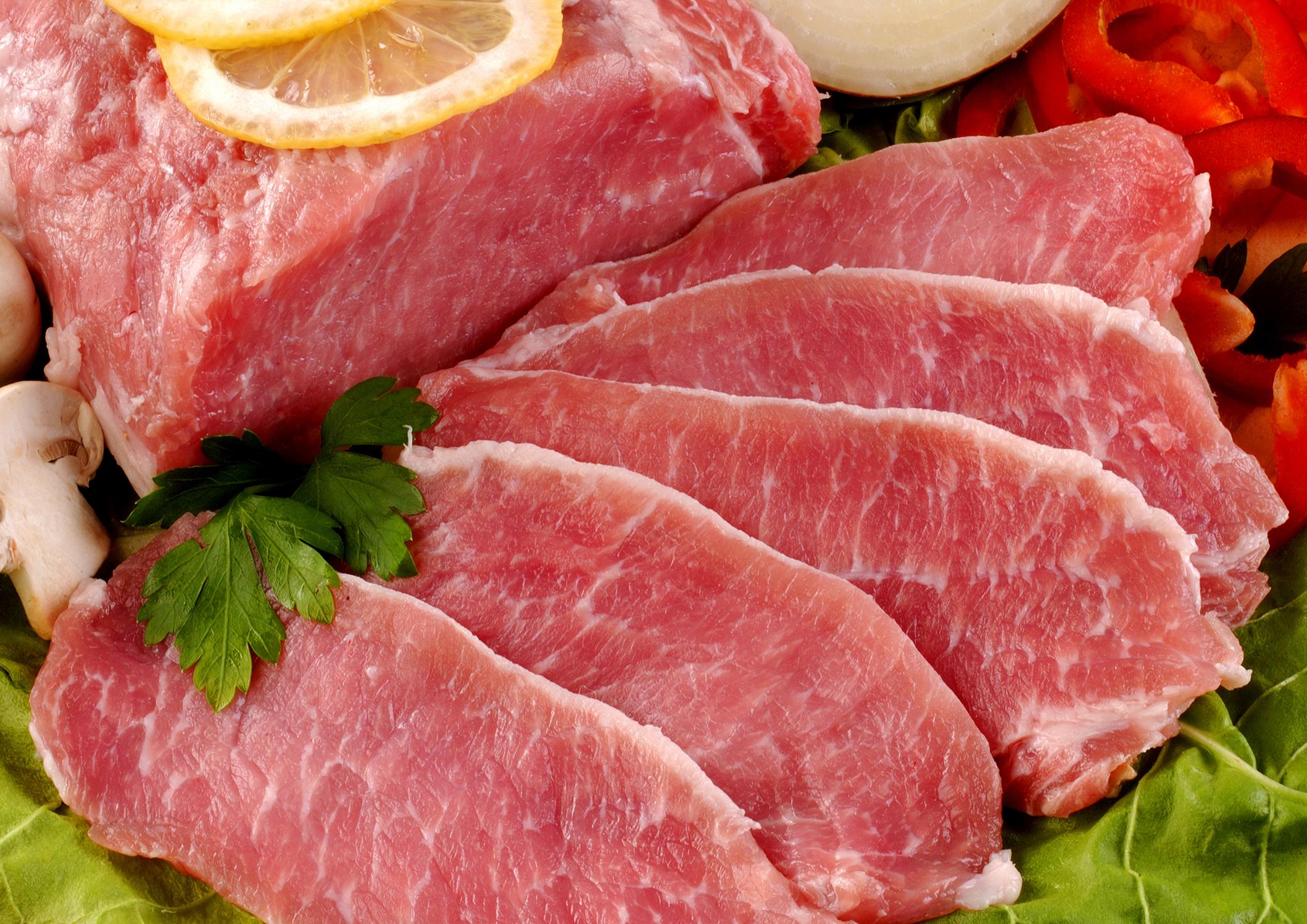 Мясо нарезанное кусочками, скачать фото, обои для рабочего стола