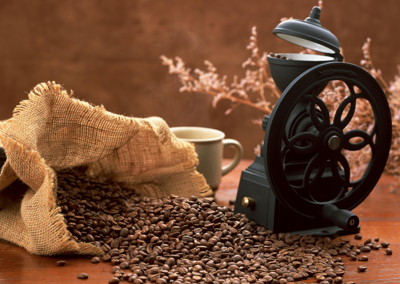 кофейные зерна скачать фото, обои для рабочего стола, кофе