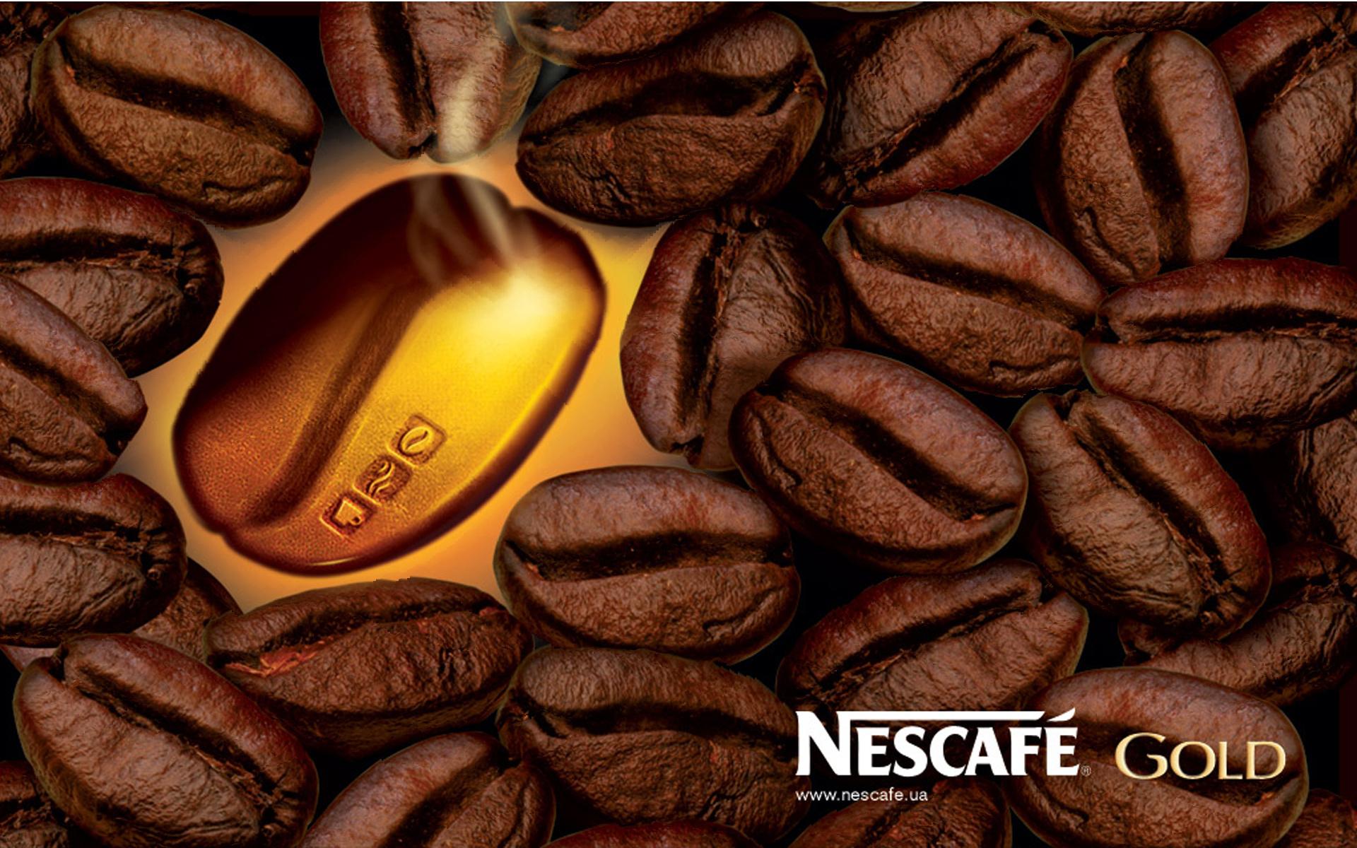 кофе, кофейные зерна, Nescafe, coffee wallpaper, скачать фото, обои для рабочего стола
