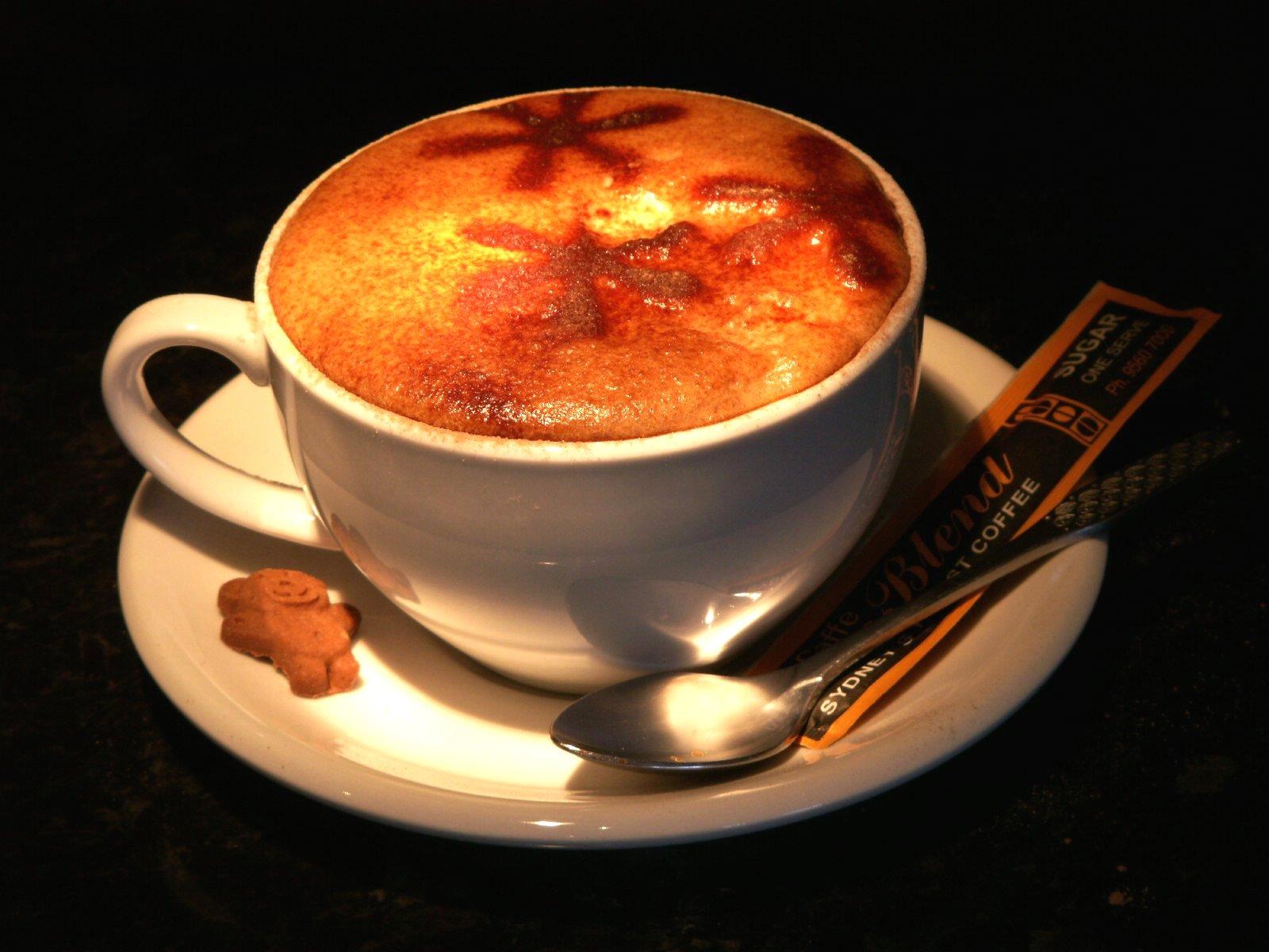 чашка кофе на черном фоне, скачать фото, обои для рабочего стола, клипарт