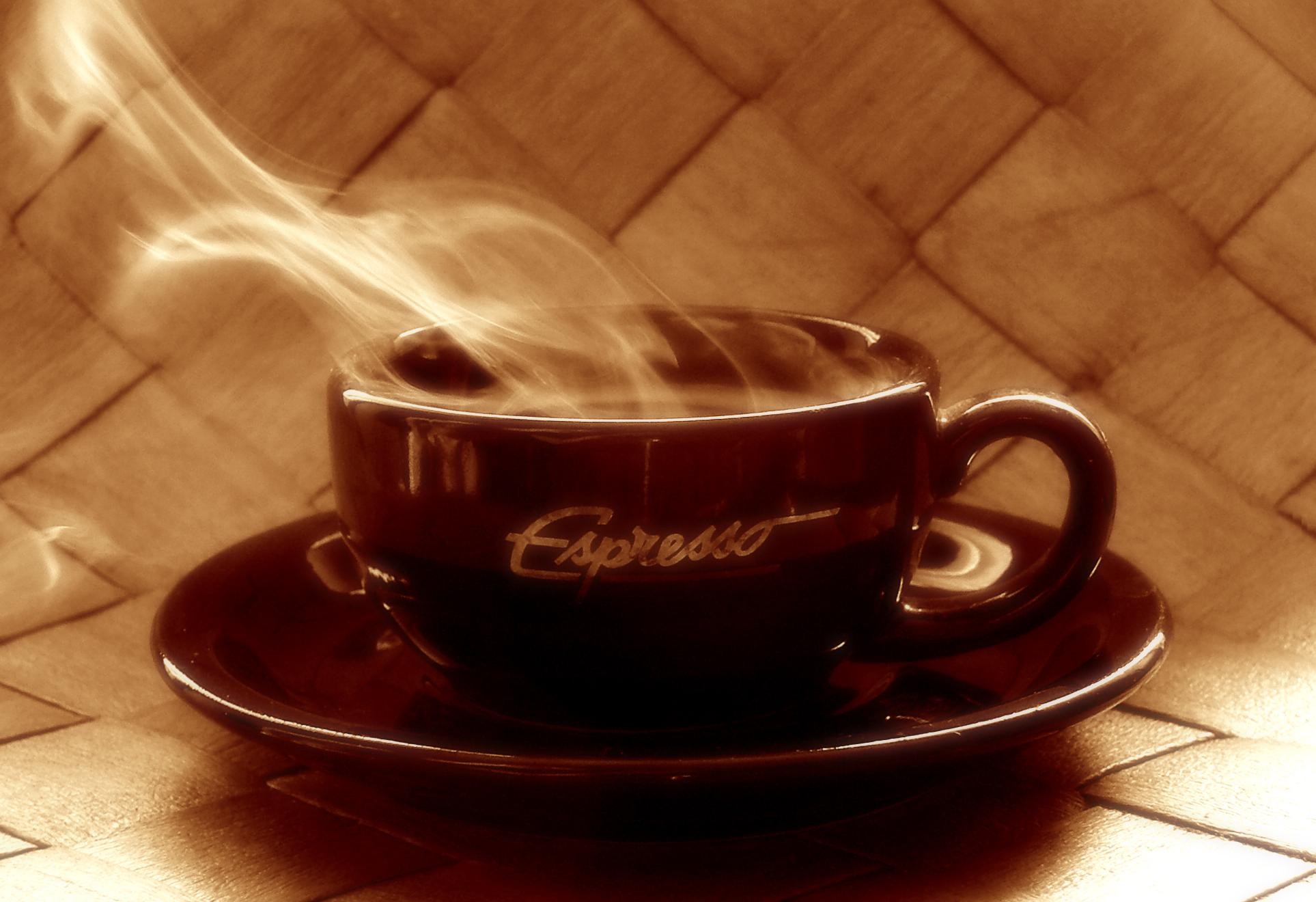 cofee wallpaper, Скачать обои для рабочего стола, чашка ароматного кофе