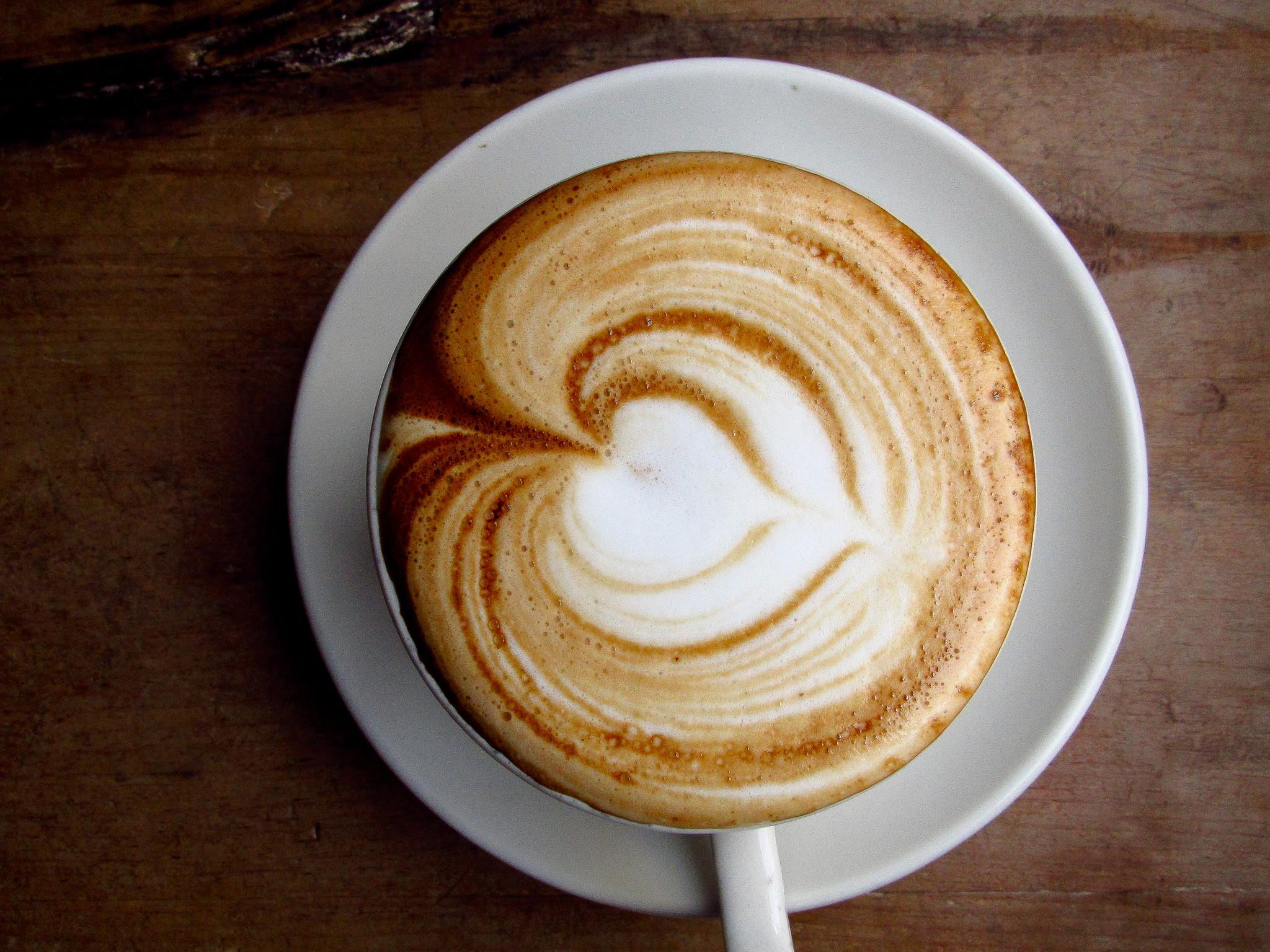 кофе со сливками, капучино, скачать фото, обои для рабочего стола