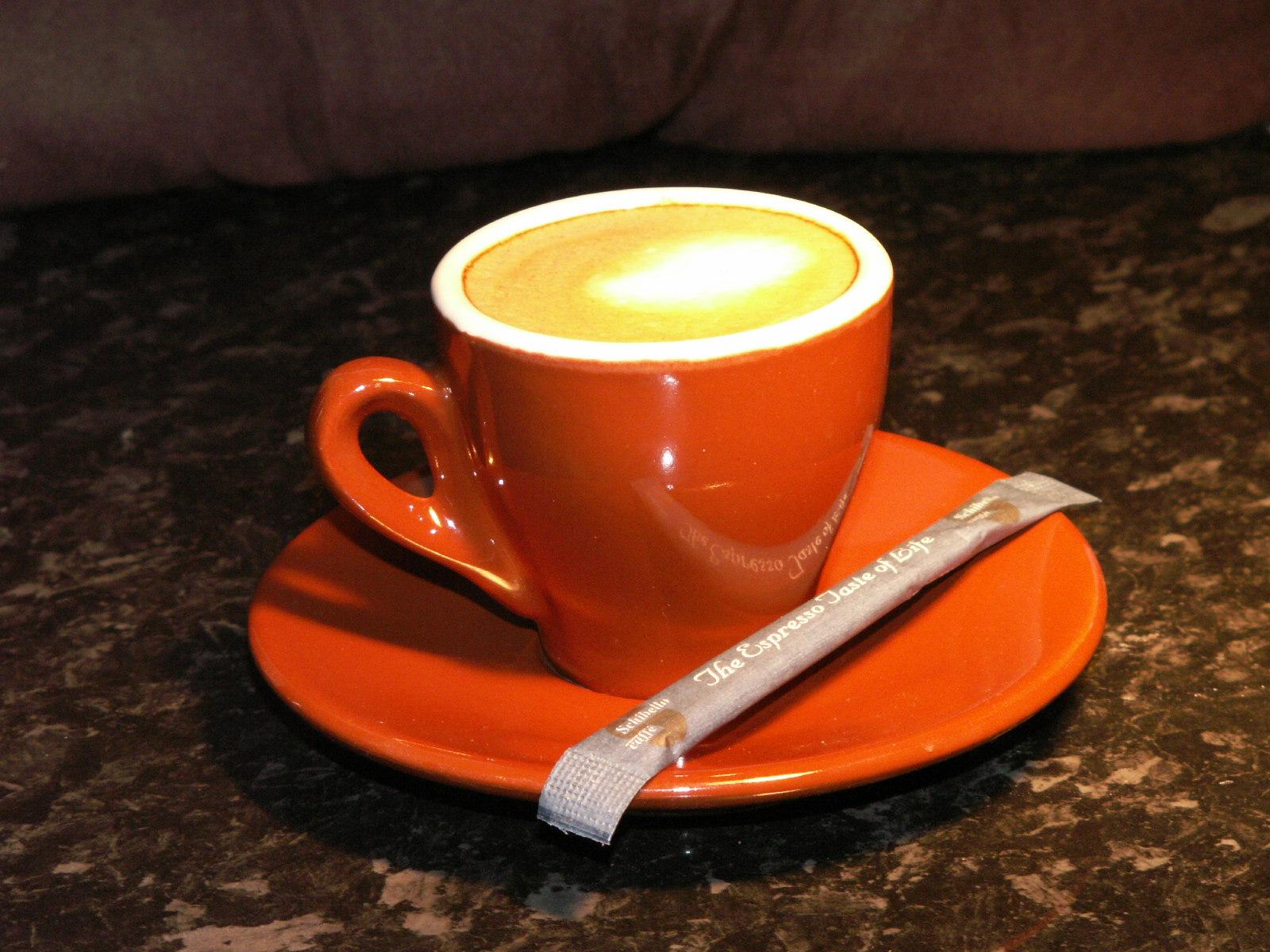 красная чашка с кофе, скачать фото, обои на рабочий стол, кофе