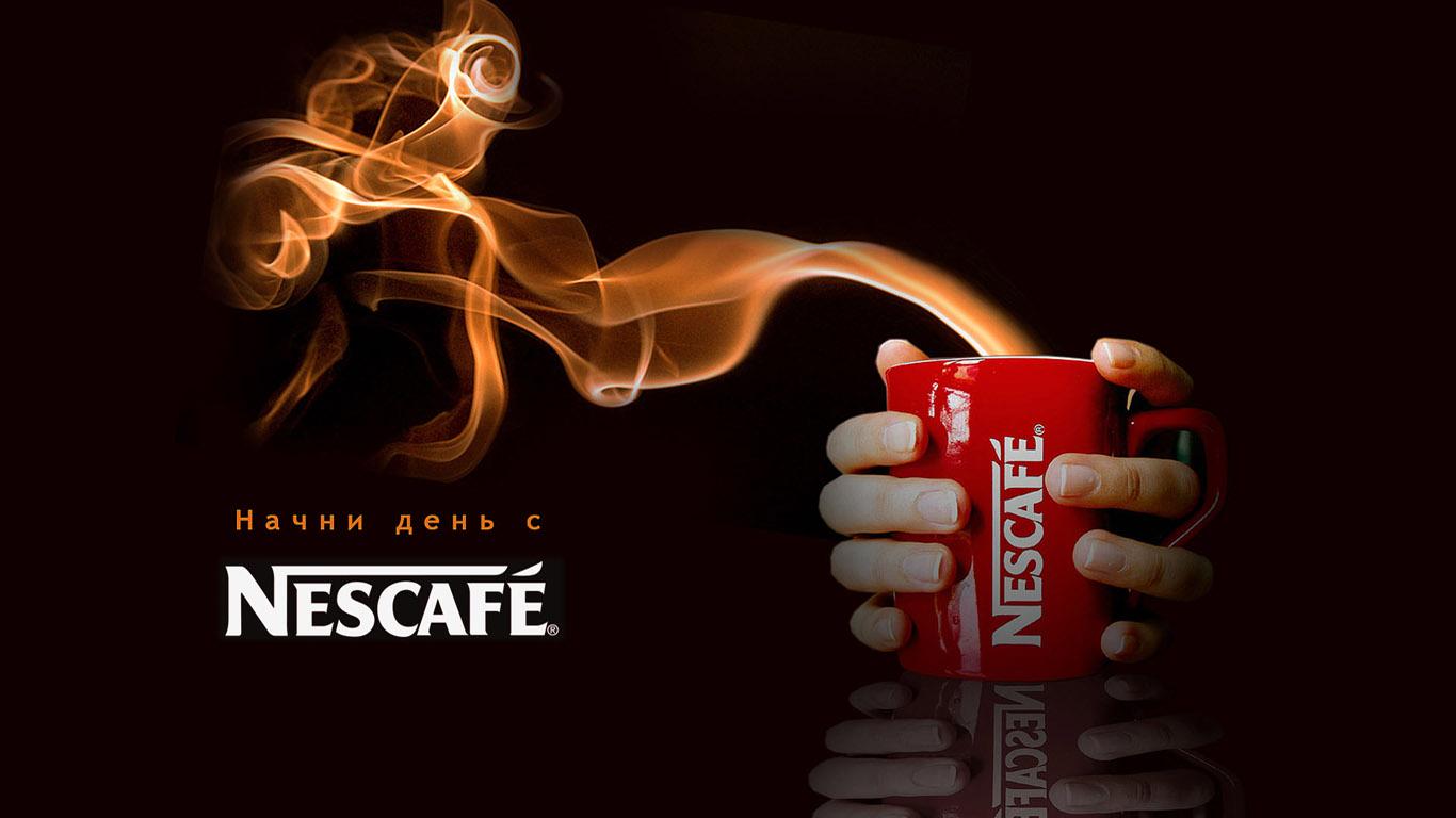 Nescafe, скачать фото, реклама, кофе, обои для рабочего стола