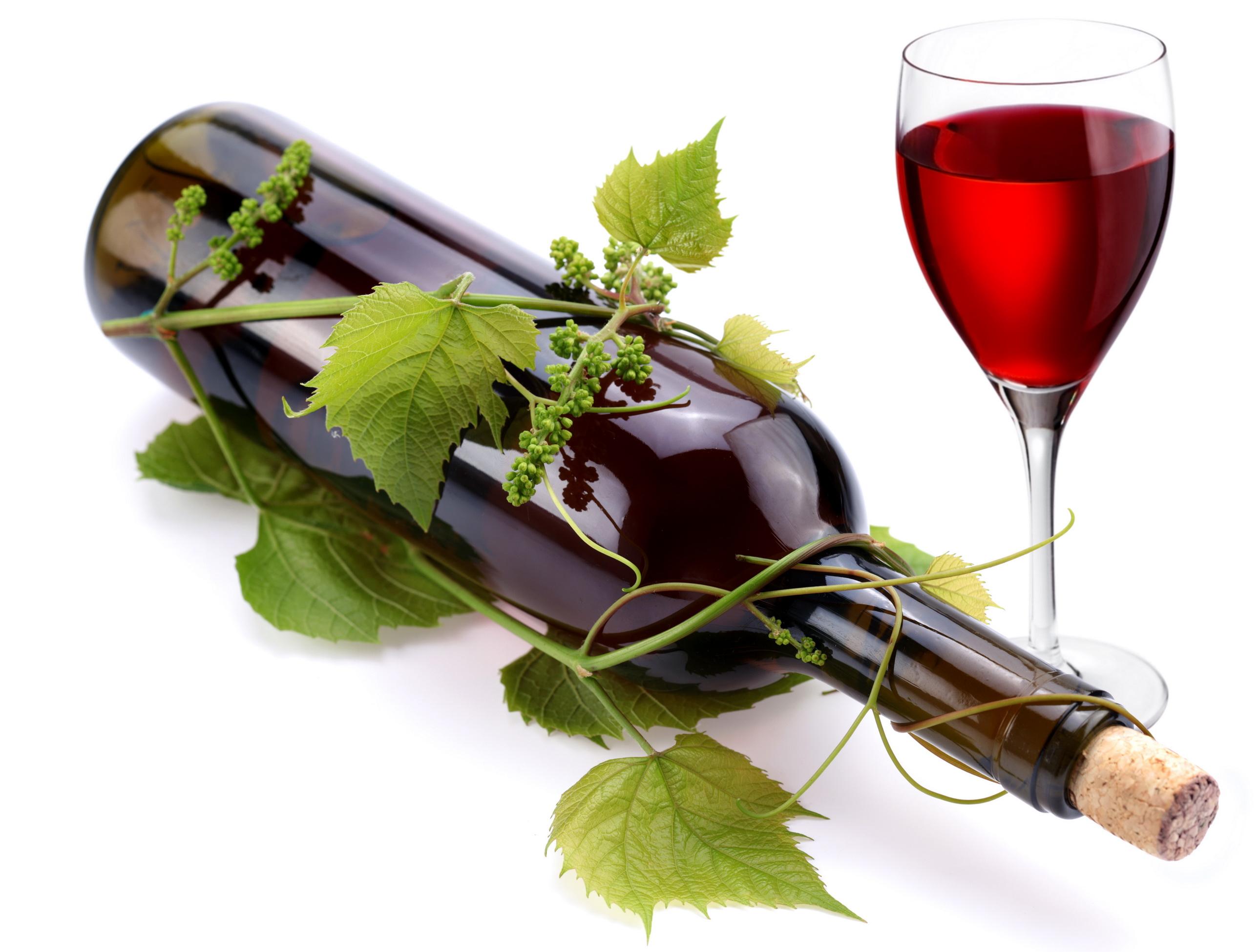 бутылка красного вина, вино из винограда, скачать фото, обои для рабочего стола, рюмка с вином