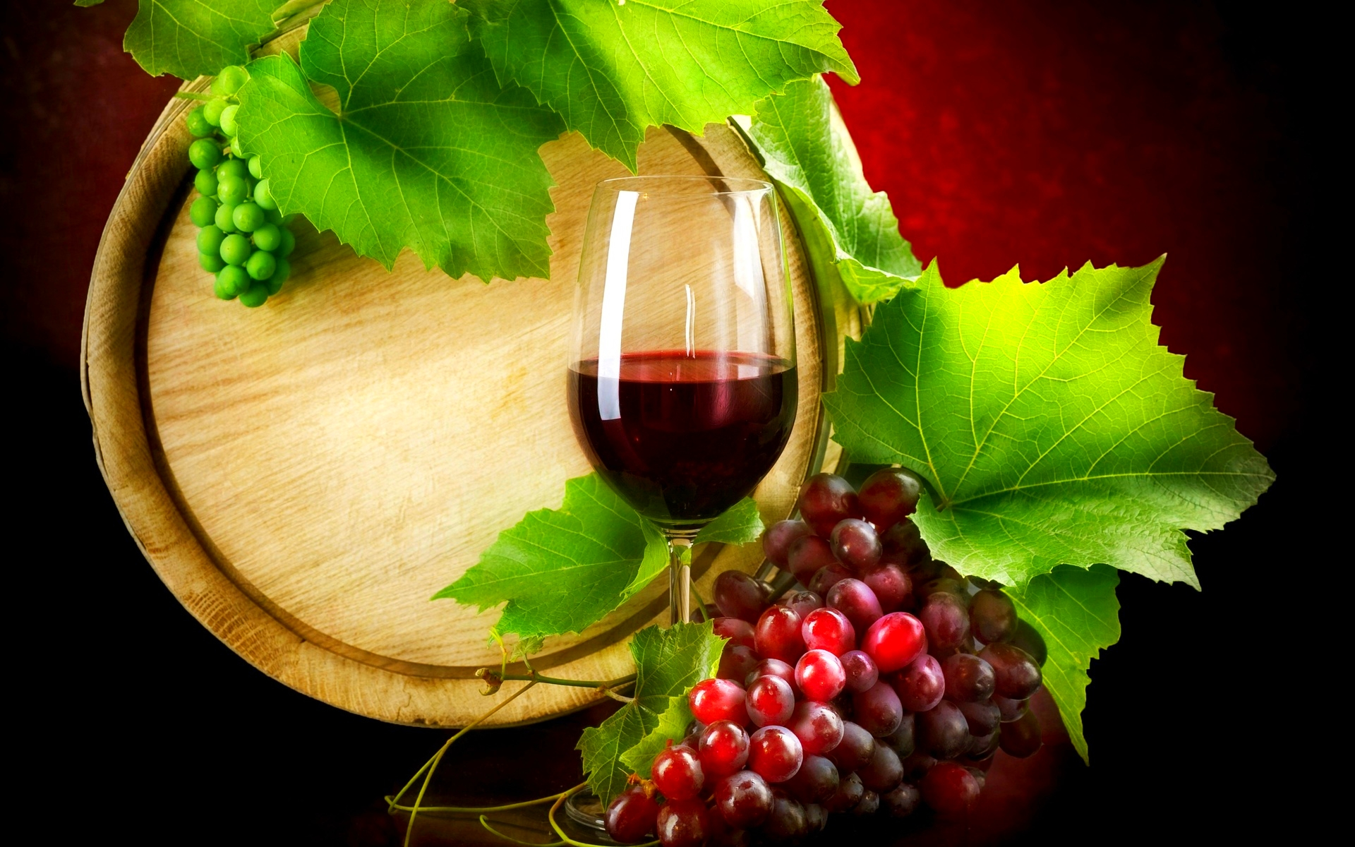 вино бочка, виноград, стакан, рюмка вина, вино красное