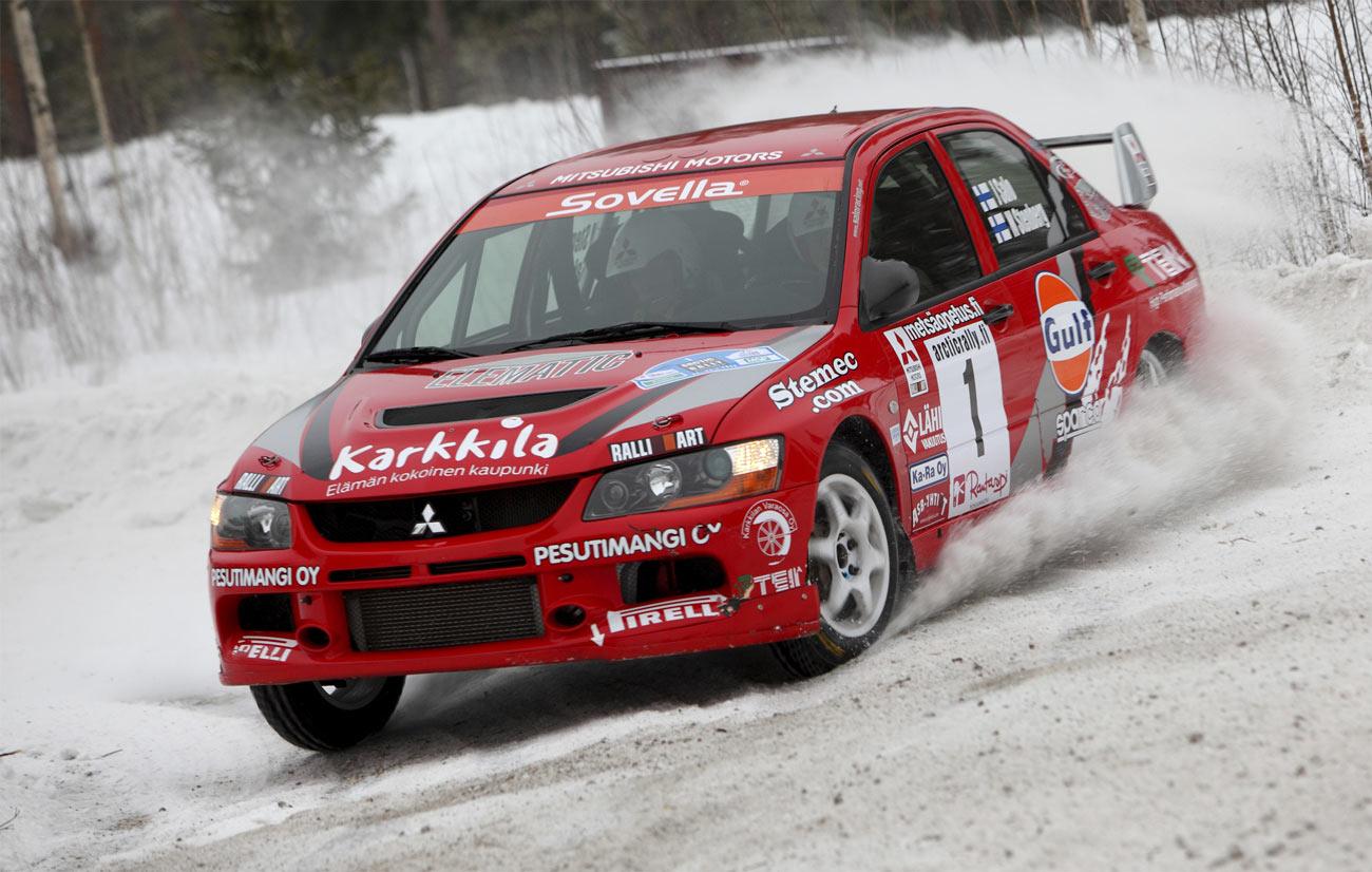 ралли снег, гонка, трасса, автомобиль, скачать фото