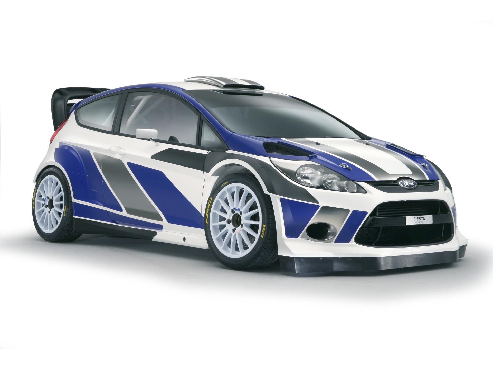 Раллийный гоночный автомобиль Форд Фиеста, Ford Fiesta Rally