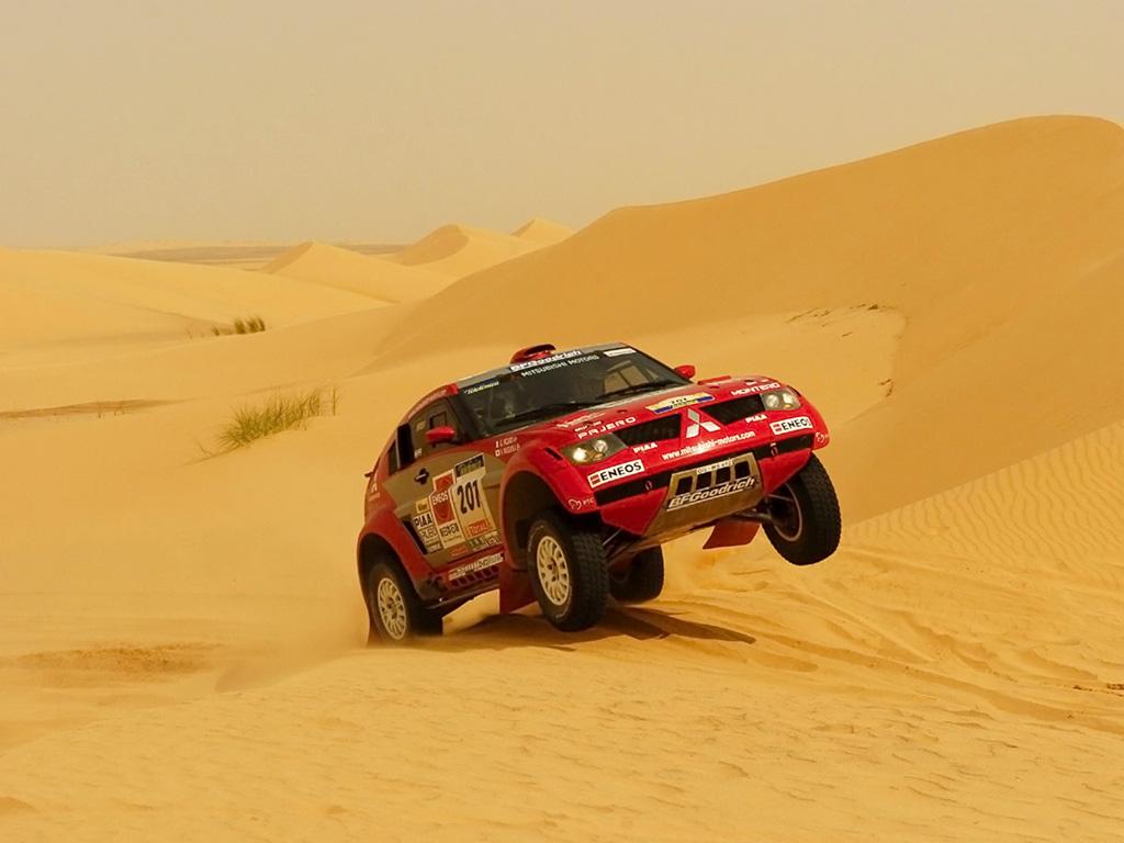 Dakkar, car rally, скачать обои для рабочего стола, автом