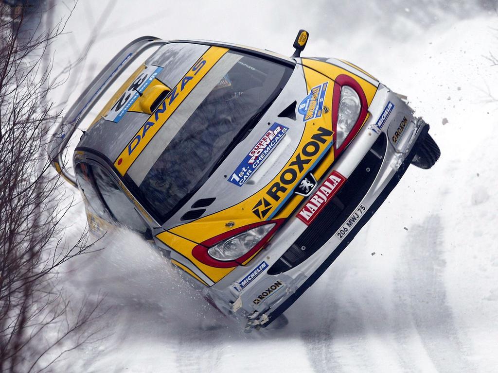 снег, авто, скачать фото, обои на рабочий стол