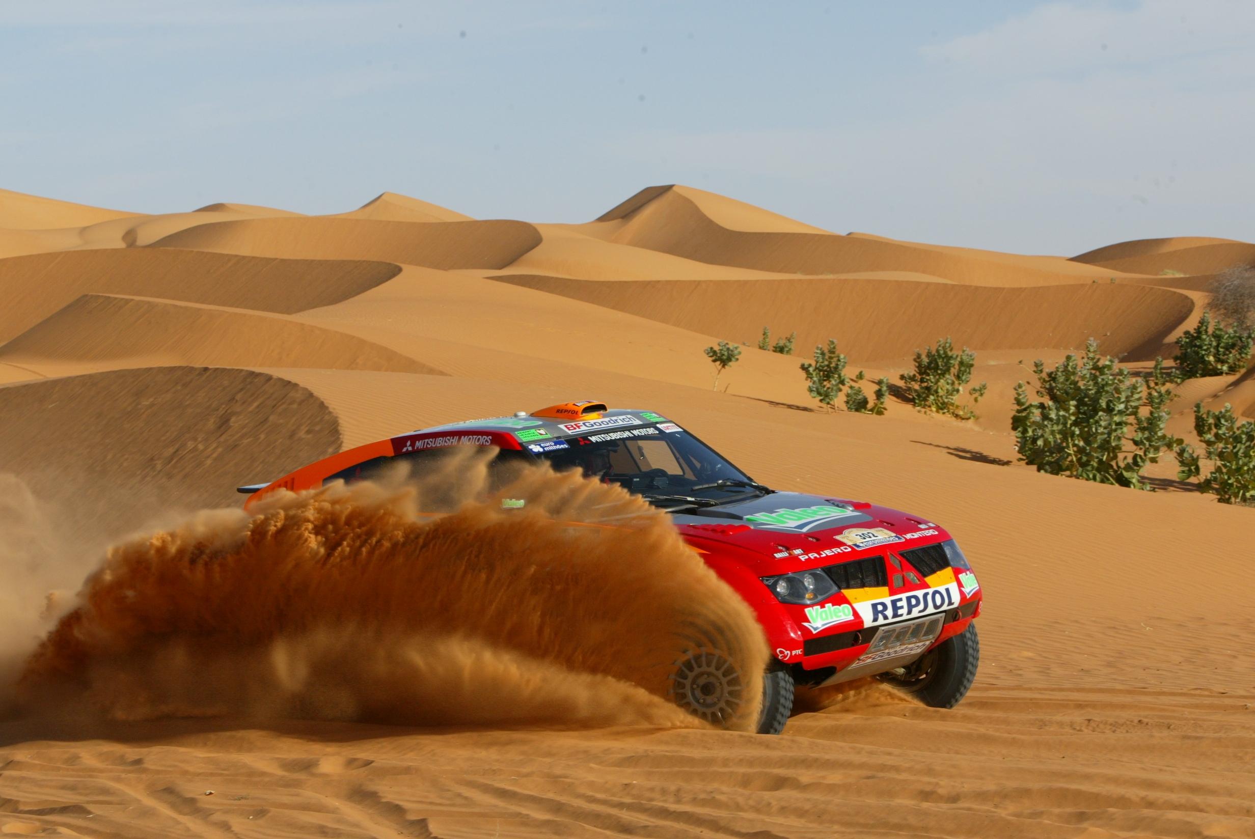 Dakar red rally car, гонка ралли Дакар, скачать фото, обои на рабочий стол