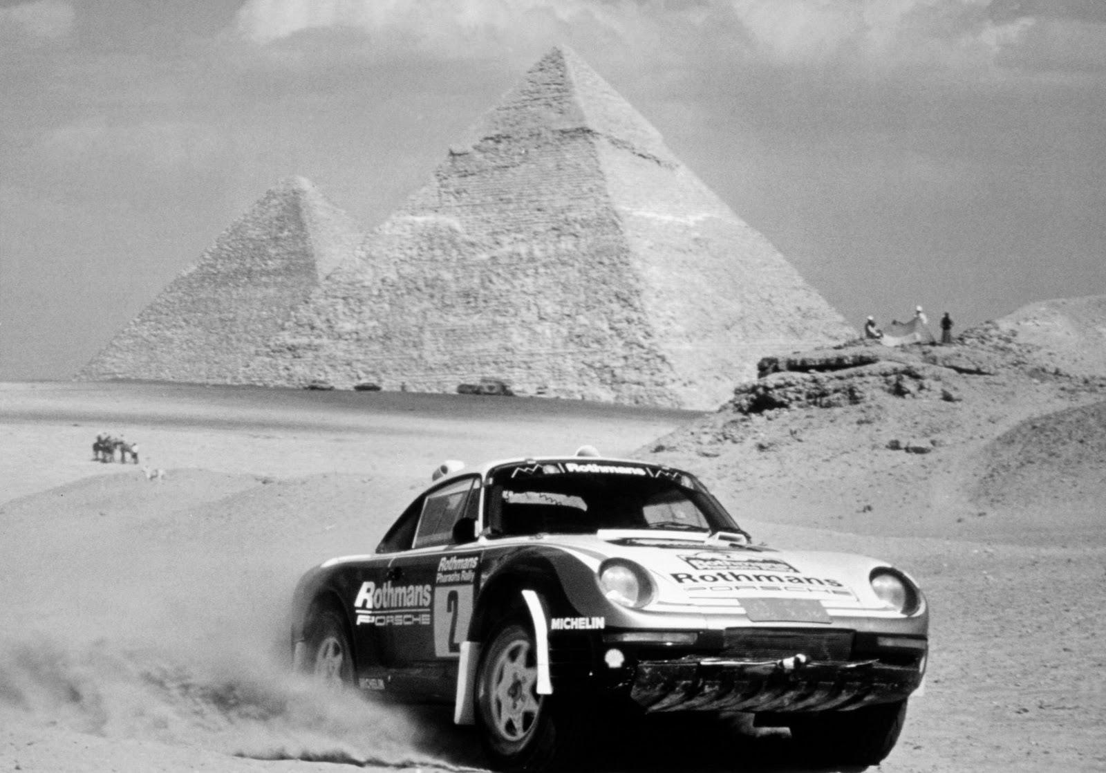 Порше, Porsche, car rally, old photo, обои для рабочего стола, фото скачать