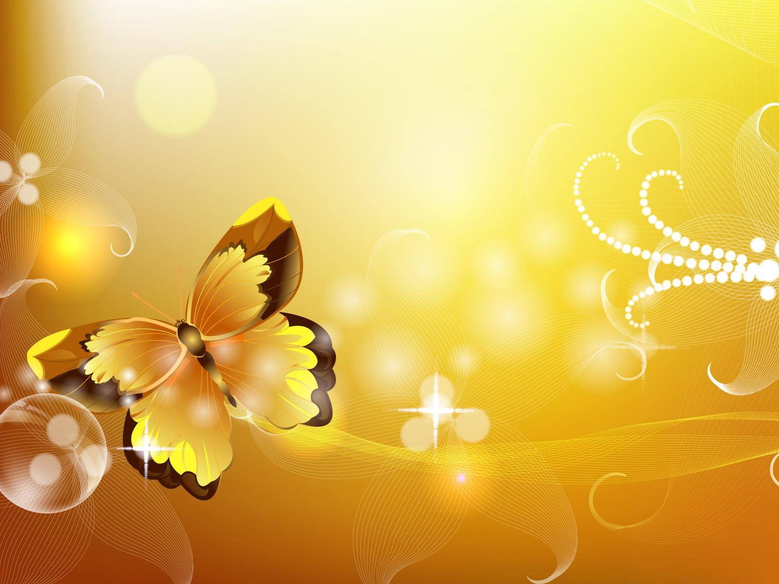 yellow buttefly wallpapers, скачать фото, обои для рабочего стола, желтая бабочка