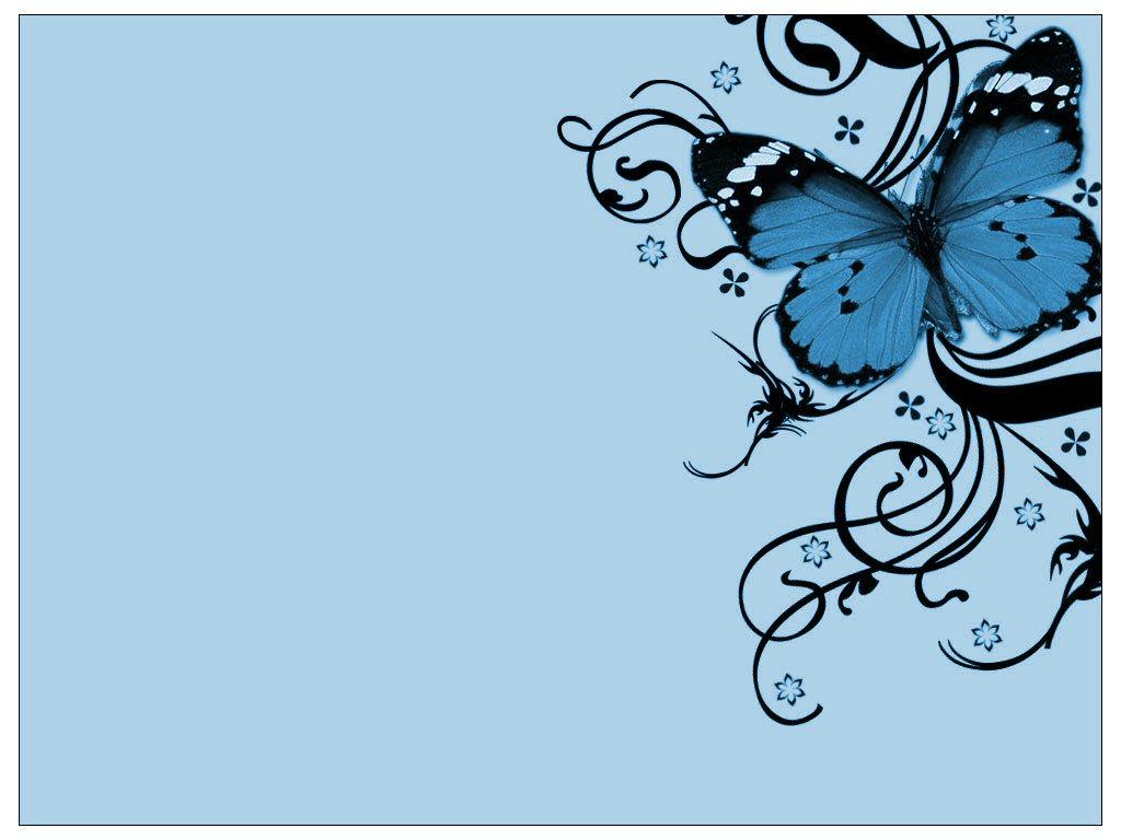 blue butterfly wallpaper, скачать фото, голубая бабочка