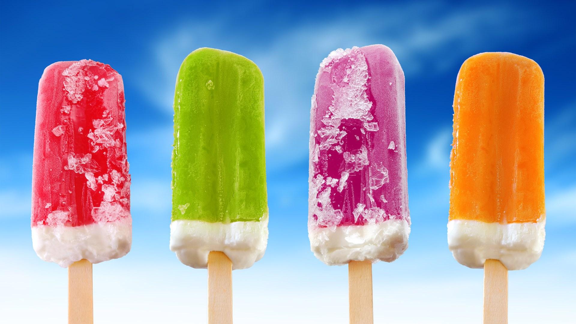 радужное мороженное, радуга, скачать фото, обои, небо, для рабочего стола