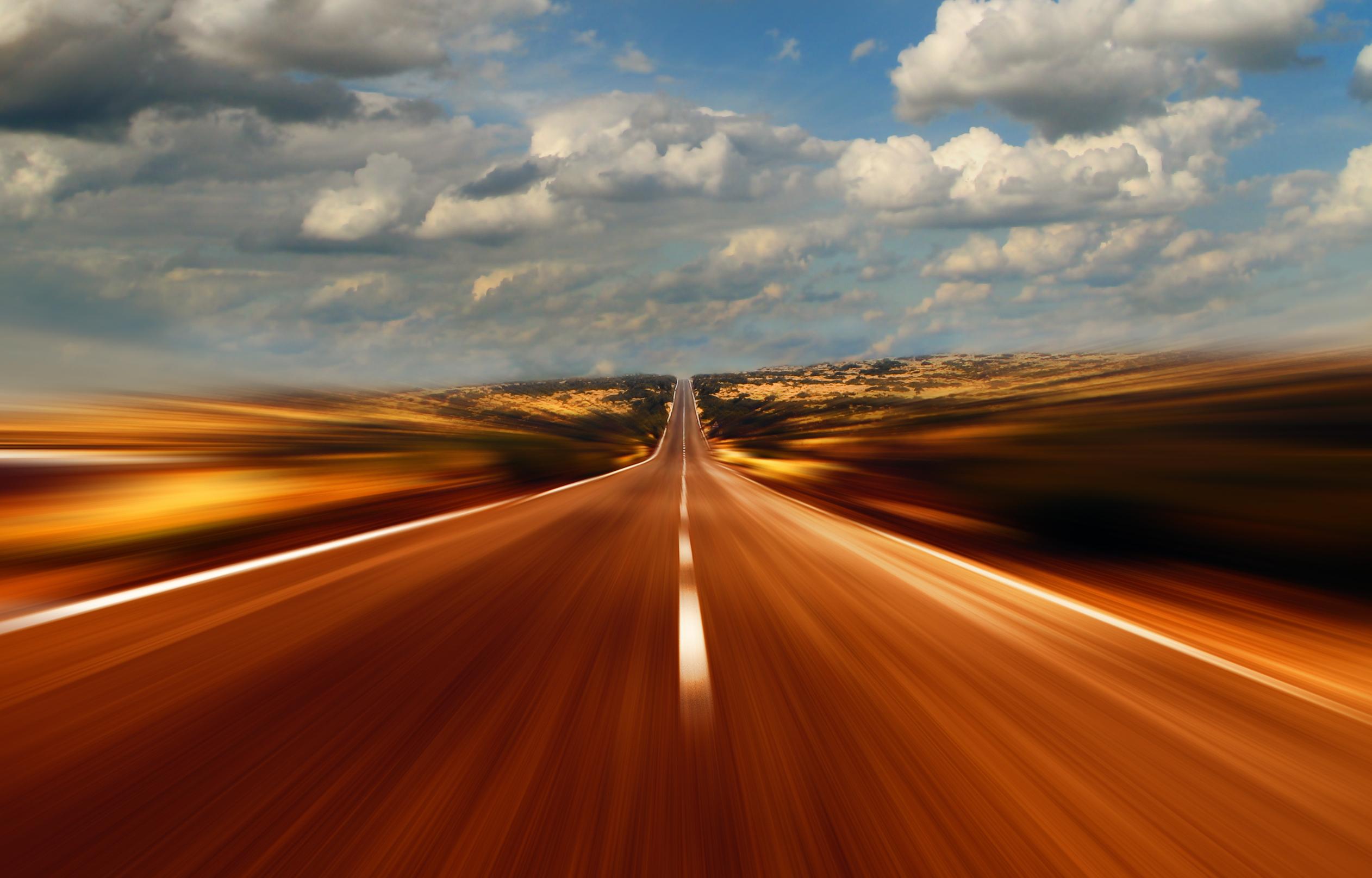 прямая скоростная дорога, скачать фото, асфальт, шоссе
