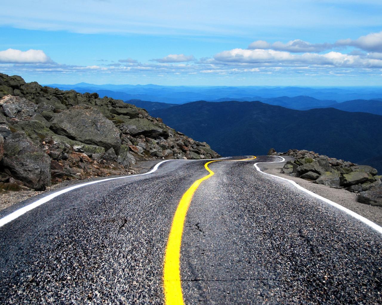 asphalt wallpaper, крупнозернистый асфальт, скачать фото, горная дорога, обои для рабочего стола