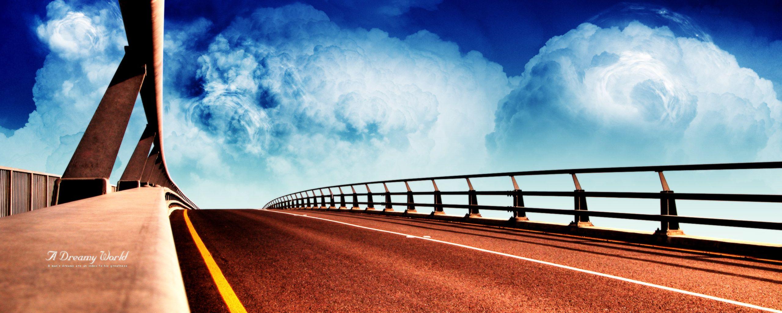 мост, дорога, bridge, скачать фото, обои на рабочий стол
