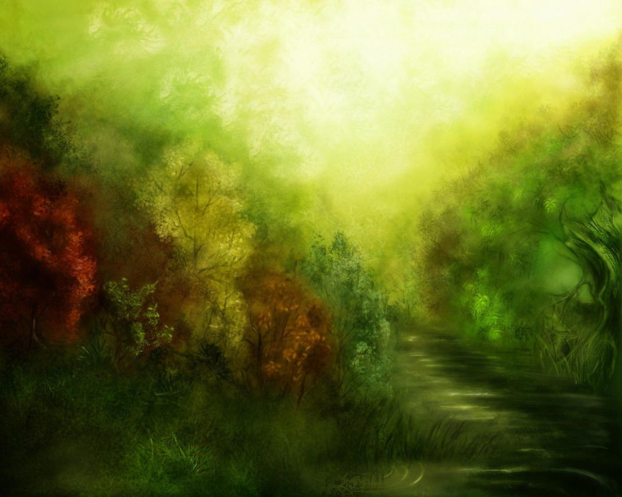 деревья, листва, лес, скачать фото, обои для рабочего стола