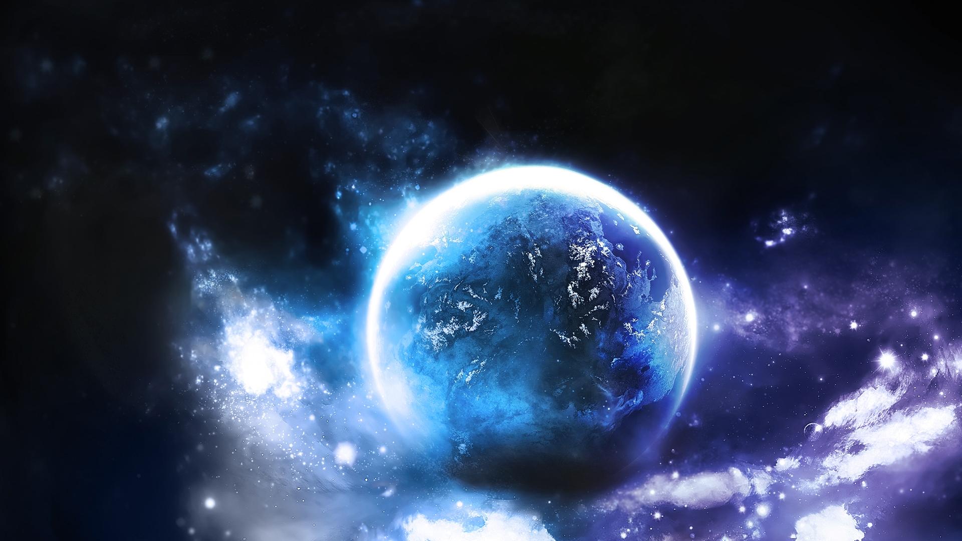 космос, планета, свет, галактика, скачать фото