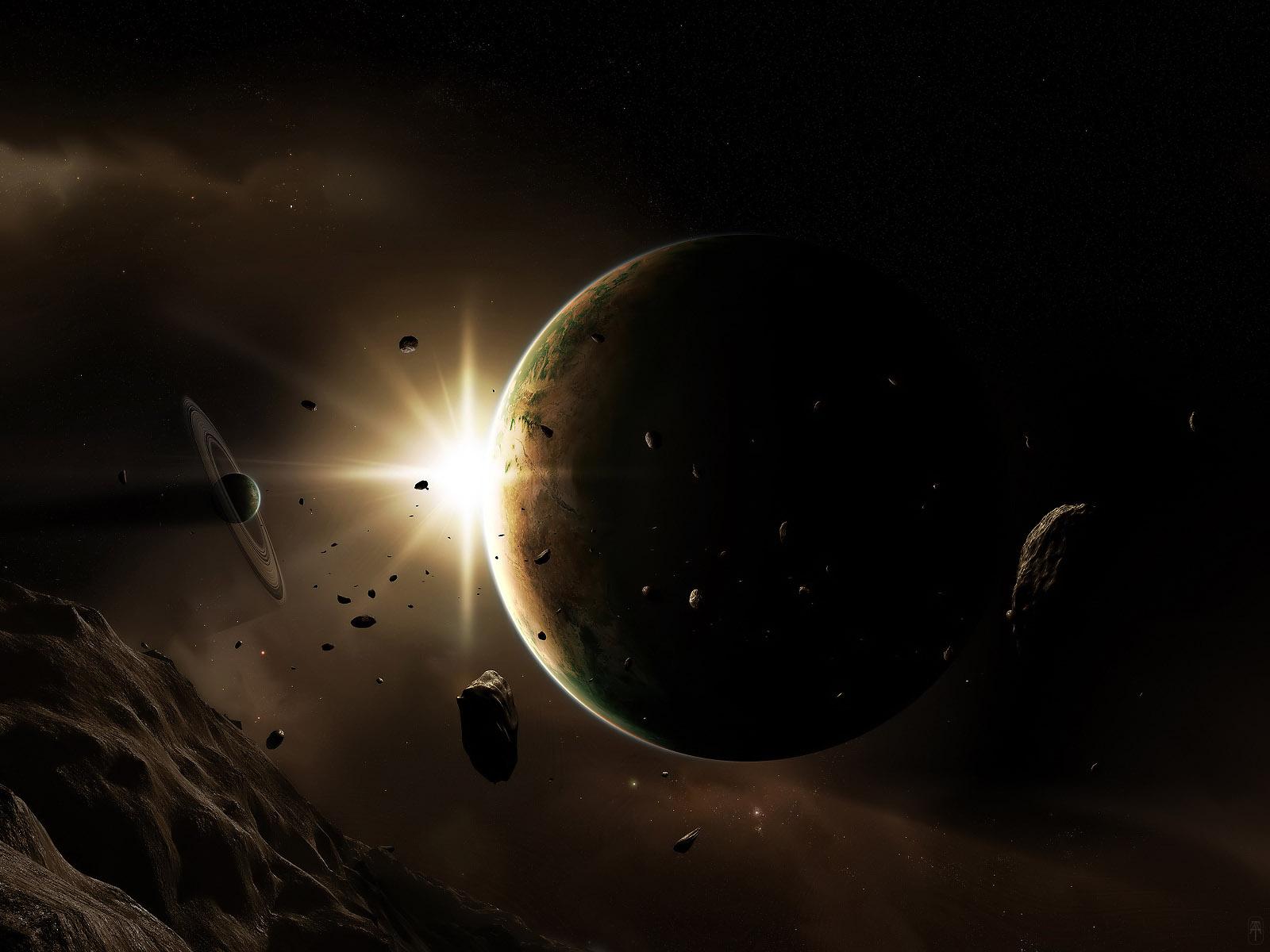Космос планета в космосе скачать