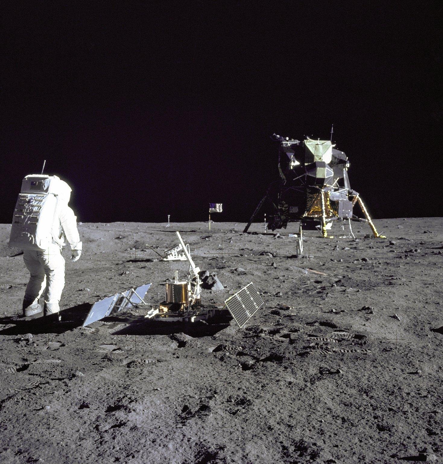 American moon appolon mission, скачать фото, обои на рабочем столе, американцы на луне