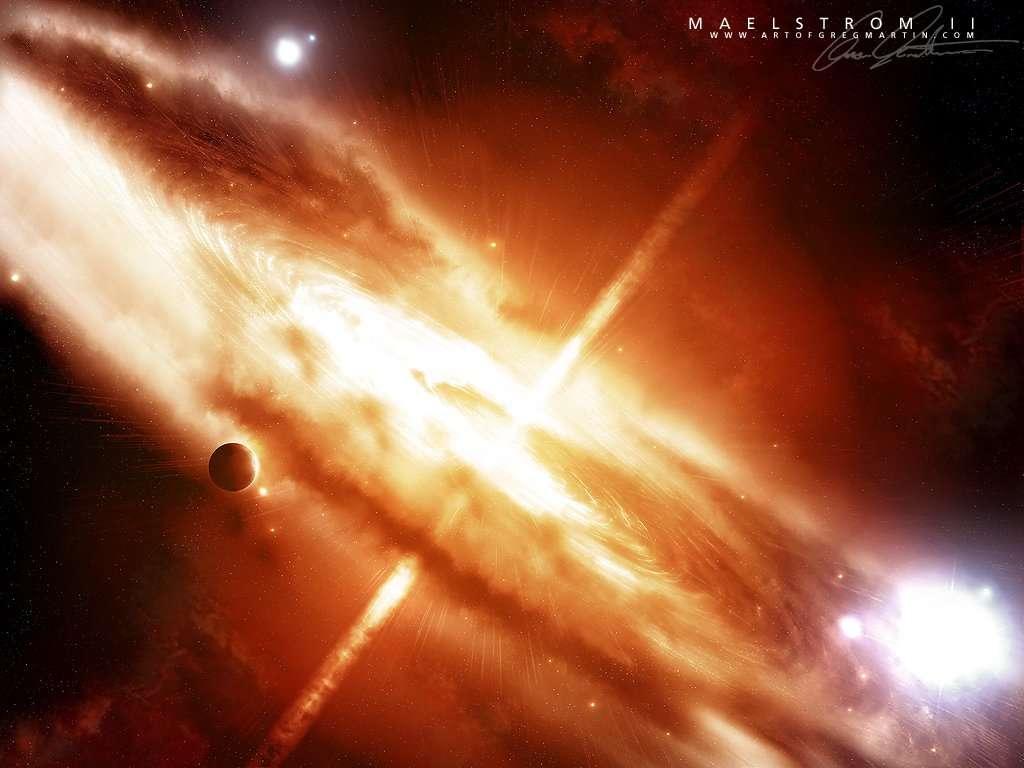 взрыв, галактика, скачать фото, обои для рабочего стола