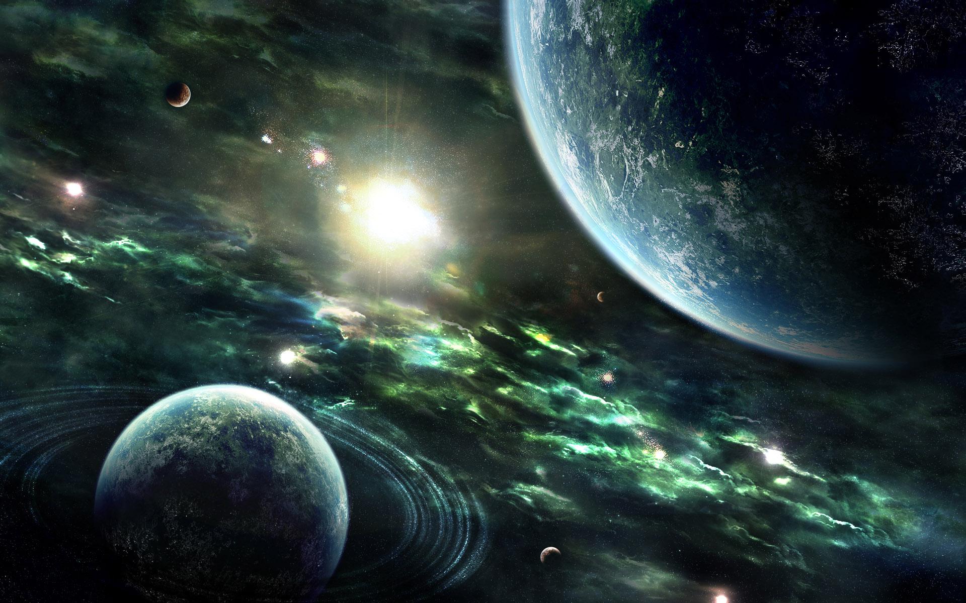 Обои на рабочий стол планеты космос