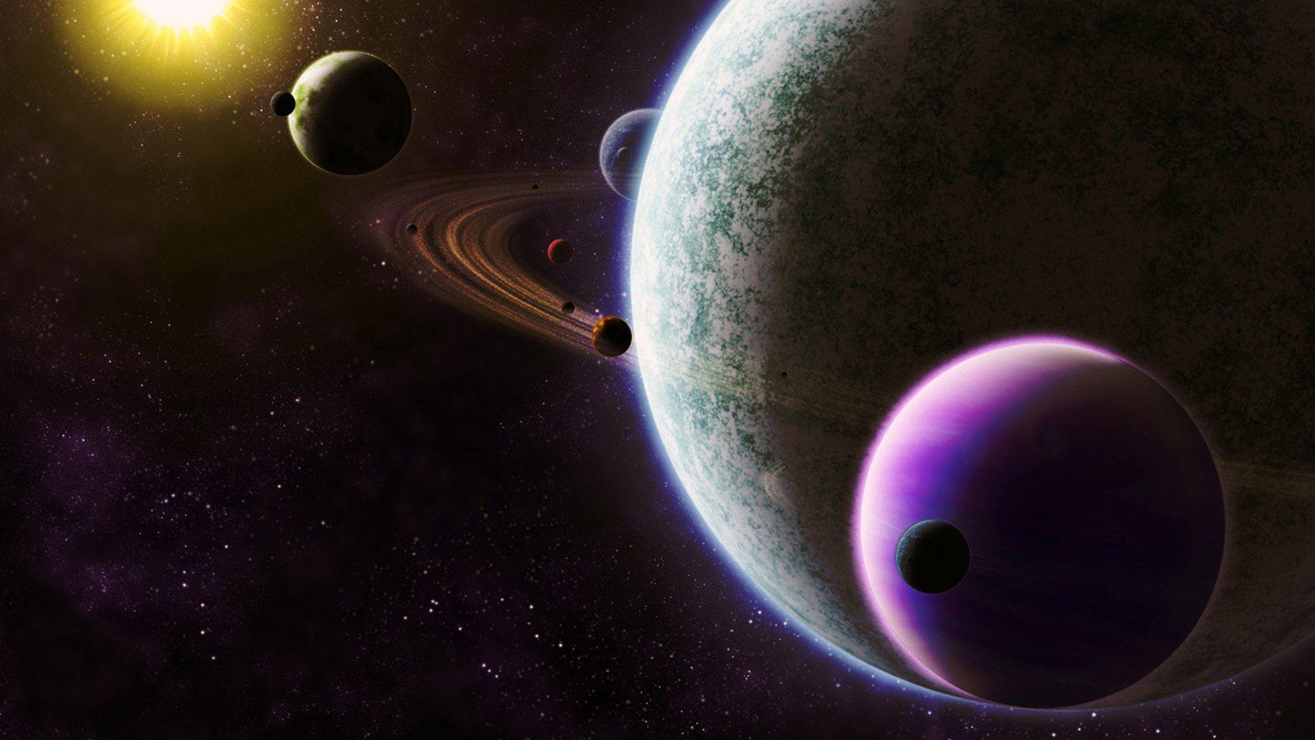 планетная система, планеты, космос, скачать фото