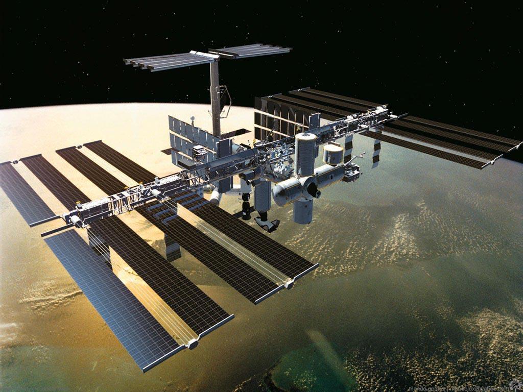 космос, орбита, спутник, скачать фото, обои для рабочего стола